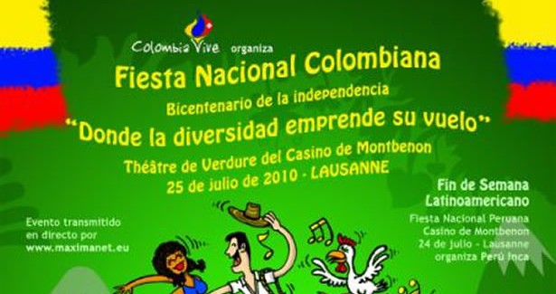 FIESTA NACIONAL COLOMBIANA***FETE NATIONALE COLOMBIENNE