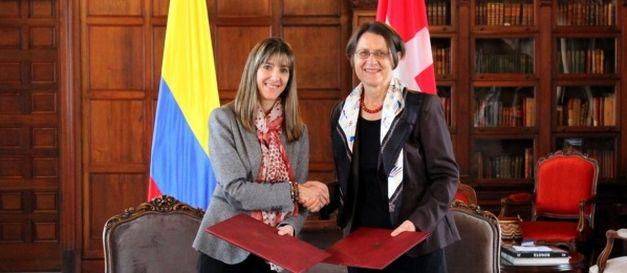 Colombia y Suiza revisaron el estado de las relaciones bilaterales