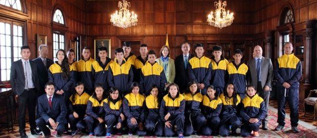 Jóvenes deportistas de Samaniego (Nariño) participarán en intercambio en Suiza