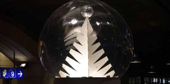 Lausanne se ilumina para las fiestas de Navidad