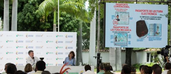Colombianos necesitan pasaporte electrónico para entrar en el espacio Schenguen