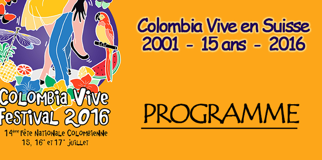 Programme Colombia Vive Festival