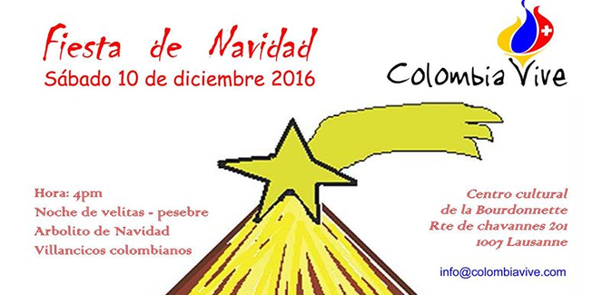 Navidad colombiana en Suiza