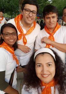 Esperanza Pascuas, Erika Ramírez, Nicolás Mora, Jorge Charry