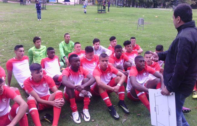 Divisiones menores del Independiente Santa Fe