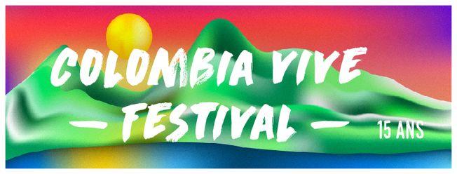 Afiche de Colombia Vive Festival 2017