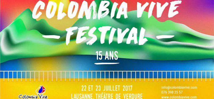 15 años del Festival Colombia Vive en  Lausanne