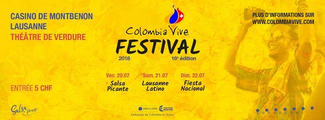 Colombia Vive Festival 2018