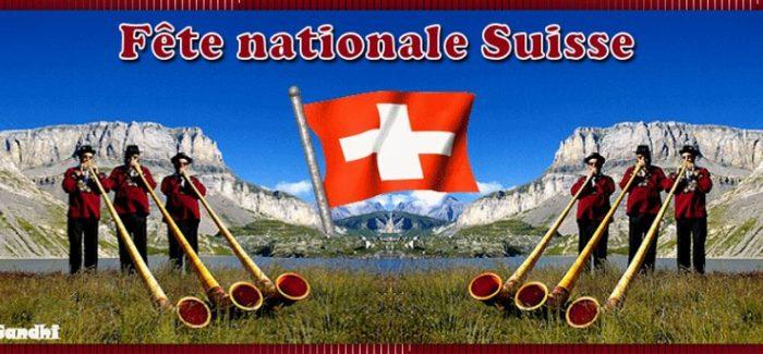 Fiesta Nacional en Suiza – 1 de agosto