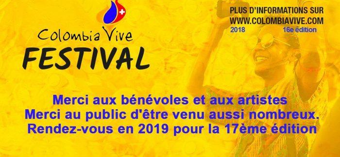 Colombia Vive Festival – Merci!