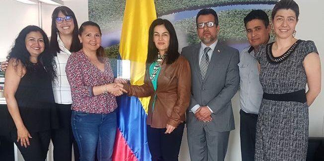 Embajada de Colombia en Suiza recibió  delegación de Colombia Vive