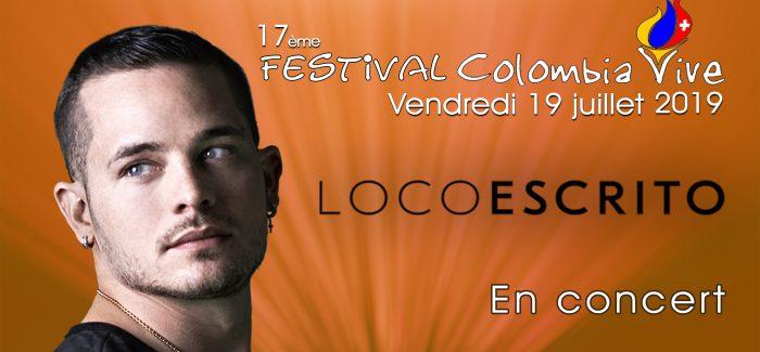 Loco Escrito en Colombia Vive Festival