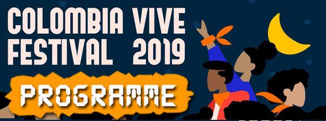 Programa 2019 Festival Colombia Vive