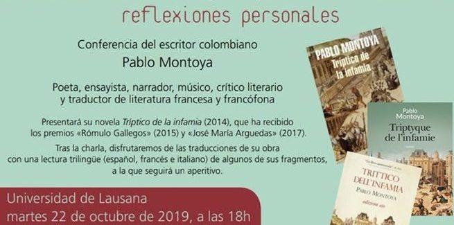 Conferencia de Pablo Montoya