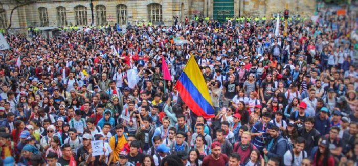 Paro Nacional en Colombia
