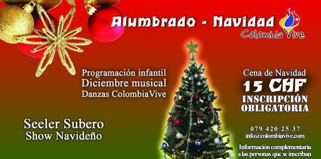 Fiesta de Navidad Colombiana en Suiza