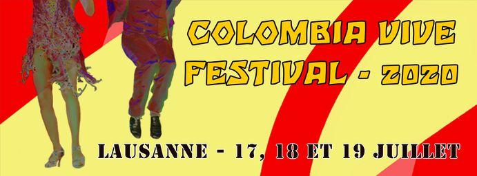 Afiche Colombia Vive Festival 2020
