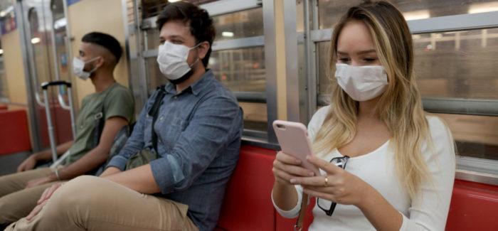 Máscara obligatoria en el transporte público en Suiza