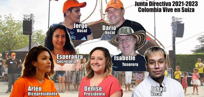 Colombia Vive constitue un nouveau Comité Directeur